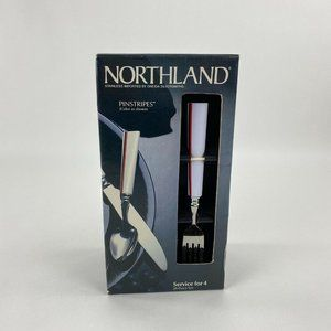 Oneida Northland Stainless Flatware Service for 4